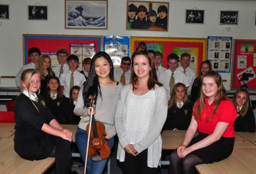 Emily Sun at Beaminster School